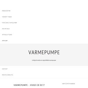 Varmepumpeoversigt.dk