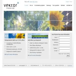 Vektor Finans - Investering i Solenergi