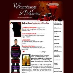 Velkomstsange & Drikkeviser