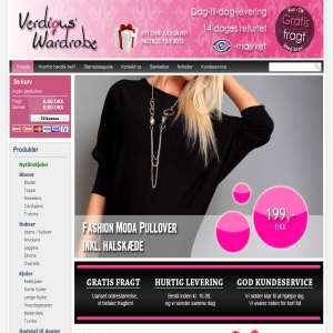 Billig modetøj på nettet - Verdious Wardrobe
