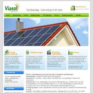 Viasol Solcelleanlæg