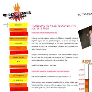 Vilde Vulkaner Festival