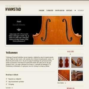 Violinbygger Hvamstad