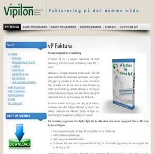 Fakturaprogram fra Vipilon ApS