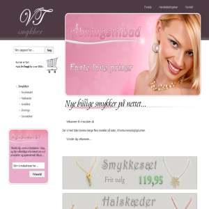 Billige moderne smykker - VT-smykker.dk