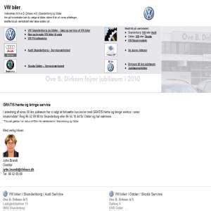 Ove B. Dirksen A/S - vw-biler.com