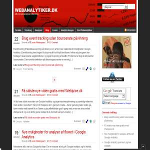 Alt om Webstatistik & Google Analytics