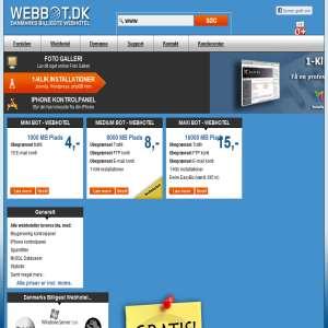 Webbot - Billig Webhosting
