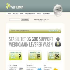 WebDomain.dk - Webhosting!