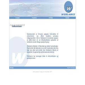 Weblance - Design af hjemmesider