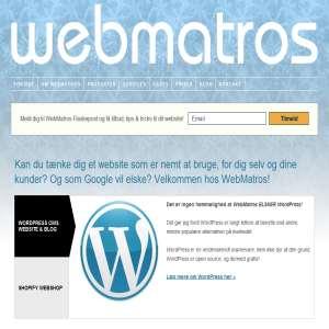 WebMatros WordPress Webdesign