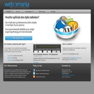 Webomania - Webløsninger til konkurrence dygtige priser