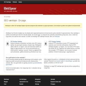 SEO Værktøjer til on-page søgemaskineoptimering