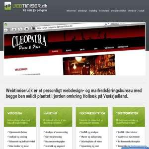 Webdesign, Hjemmeside - Få et gratis udkast