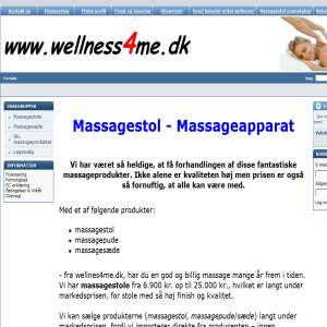 Wellnes4me.dk - Massagestole