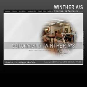 Winther A/S Snedker- og Tømrermestre