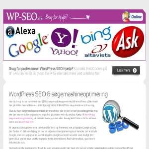 WordPress søgemaskineoptimering