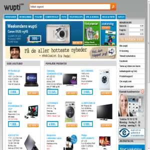 Wupti.com - elektronik & hårde hvidevarer via internettet
