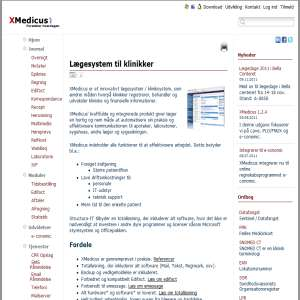 Lægesystem til klinikker