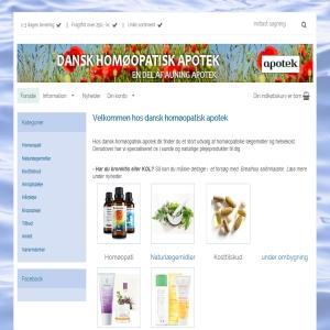 Dansk homøopatisk apotek