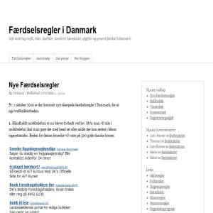 Færdselsregler i Danmark
