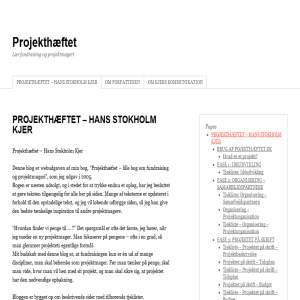Projekthæftet.dk - fundraising og projektmageri
