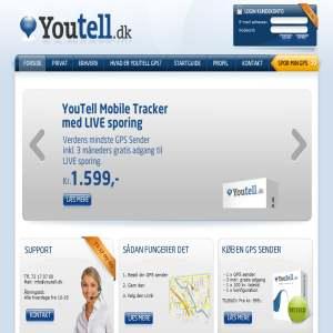 YouTell.dk - Køb eller lej en GPS sender