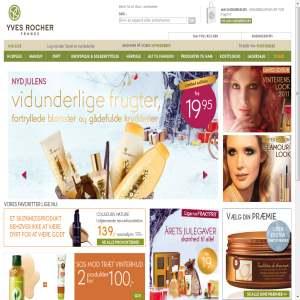 Yves Rocher forhandler kosmetik, hudpleje & kropspleje