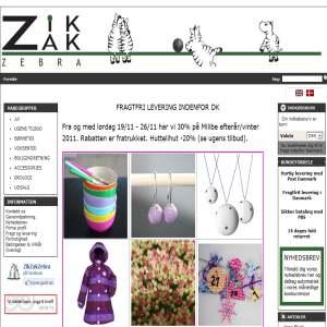 ZikZakZebra Børnetøj
