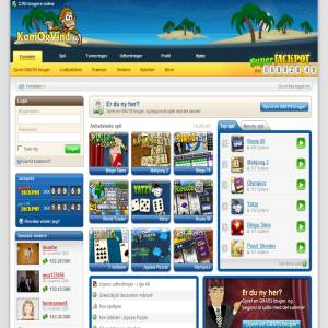 KomOgVind.dk - Online Spil