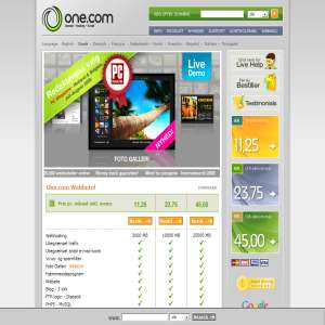 One.com Webhosting