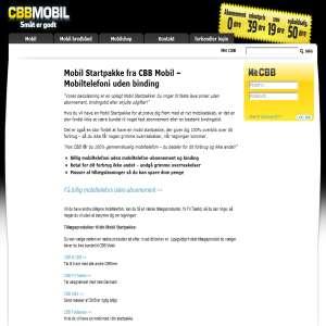 Mobil Startpakke fra CBB Mobil