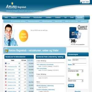 Amino Regnskab - Gratis Værktøjer til Regnskab