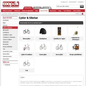 Cykler - Damecykler & Herrecykler fra Coop