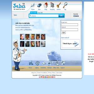 Jubii Chat | chat.jubii.dk