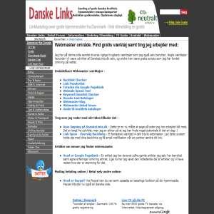 Hjemmesider & Webmaster værktøjer