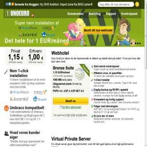 UnoEuro - Webhotel & Domæner