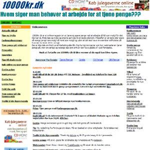 10000kr.dk | magasin om at tjene og spare penge