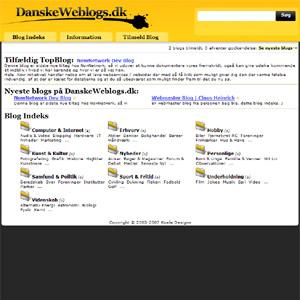 Danske Weblogs Indeks | Tilmeld din blog gratis