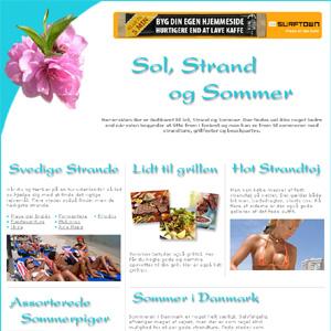 Sol, Strand & Sommer