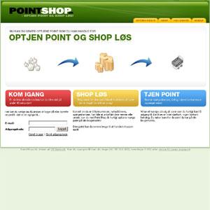 PointShop | Tjen point og køb for dem online